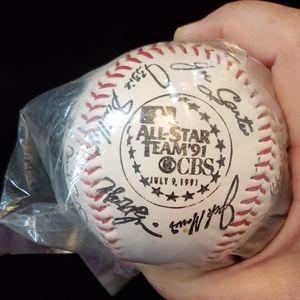 Nabisco Collectable Baseball All Star Team 1991